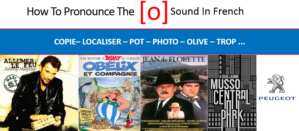 Learn how to pronounce the French O closed sound
