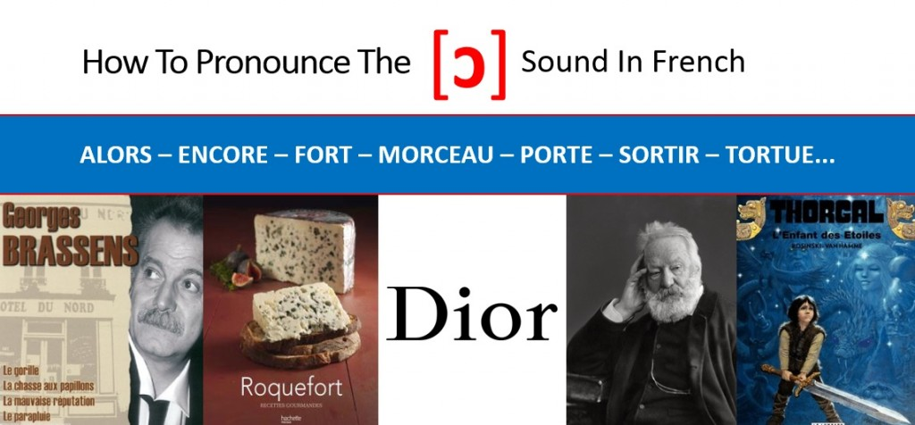 How to pronounce the French o open sound